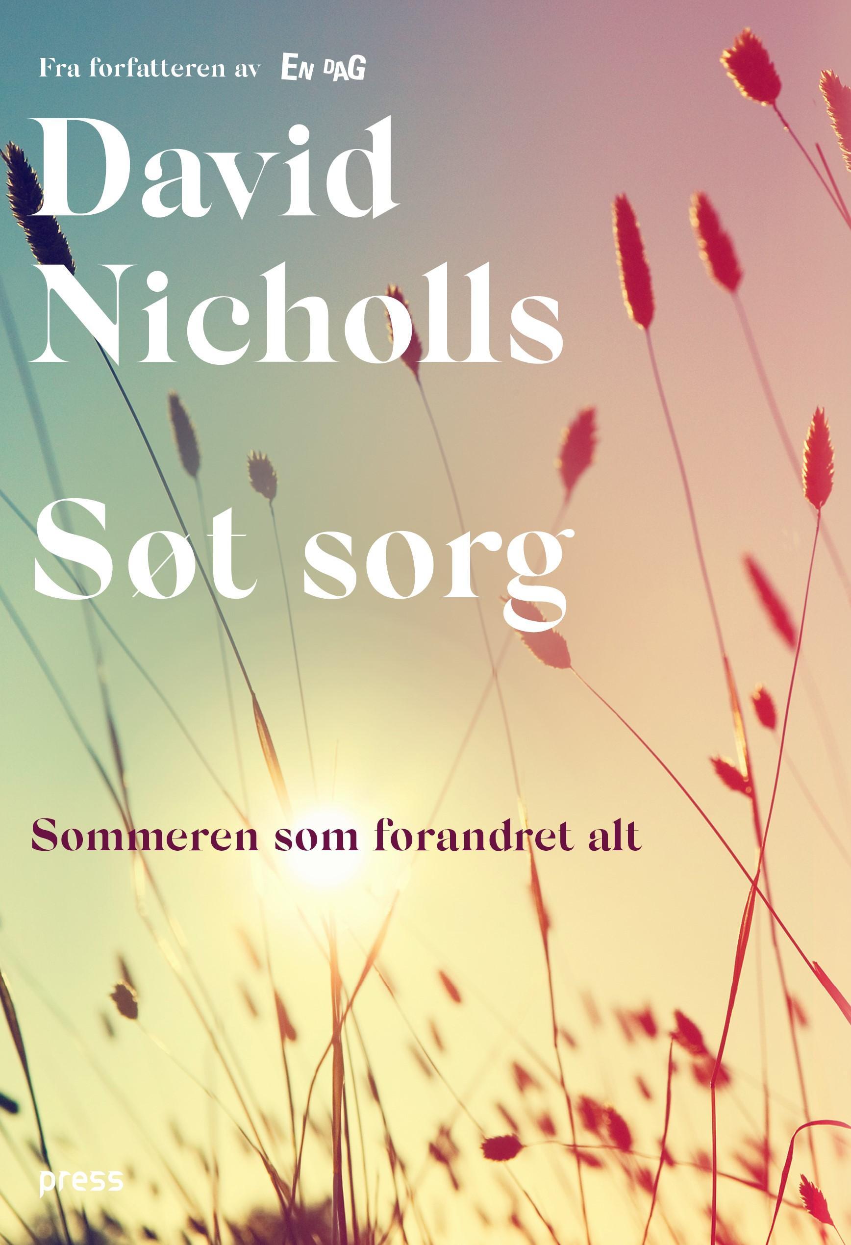 """""""Søt sorg"""" av David Nicholls"""