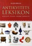 """""""Antikvitetsleksikon - antikviteter, stilarter, designere, produsenter"""" av Ellen Ørnes"""