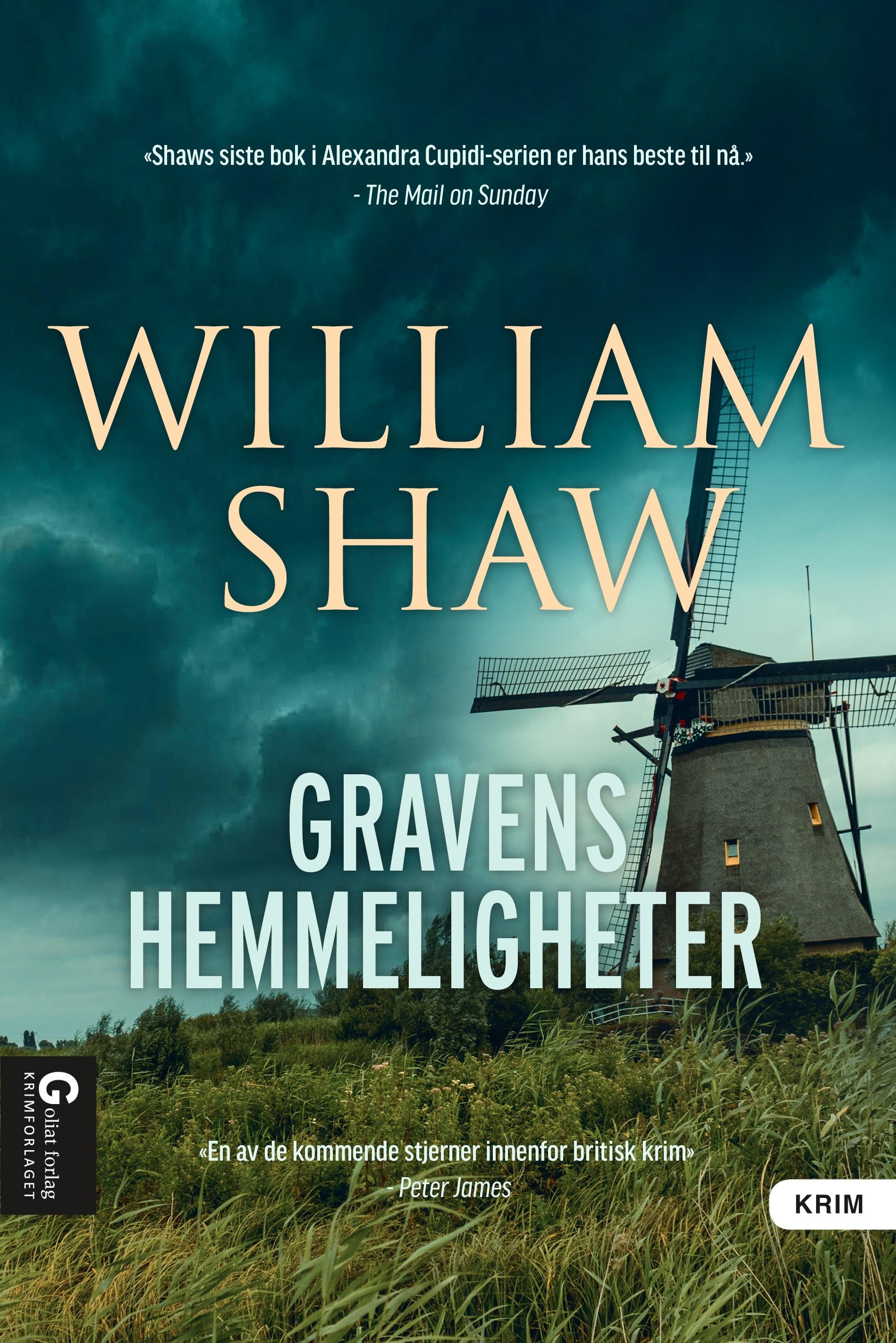"""""""Gravens hemmeligheter"""" av William Shaw"""