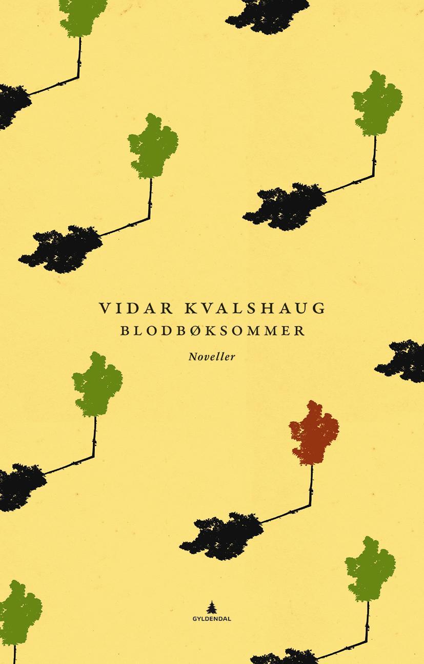 """""""Blodbøksommer - noveller"""" av Vidar Kvalshaug"""