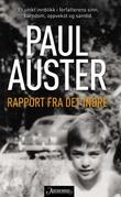 """""""Rapport fra det indre"""" av Paul Auster"""