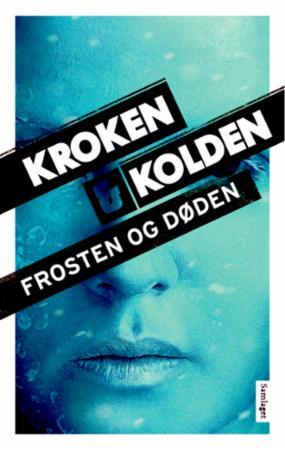 """""""Frosten og døden - kriminalroman"""" av Vigdis Kroken"""