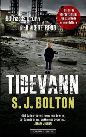 """""""Tidevann"""" av S.J. Bolton"""
