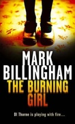"""The burning girl"" av Mark Billingham"