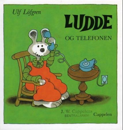 """""""Ludde og telefonen"""" av Ulf Löfgren"""