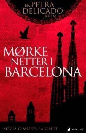 """""""Mørke netter i Barcelona - roman"""" av Alicia Gimènez-Bartlett"""