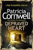 """""""Depreaved heart"""" av Patricia Cornwell"""