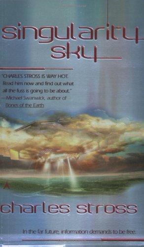 """""""Singularity Sky"""" av Charles Stross"""