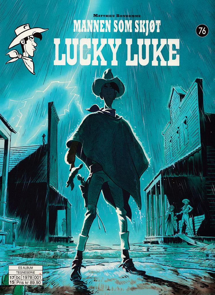 """""""Mannen som skjøt lucky luke"""" av Matthieu Bonhomme"""