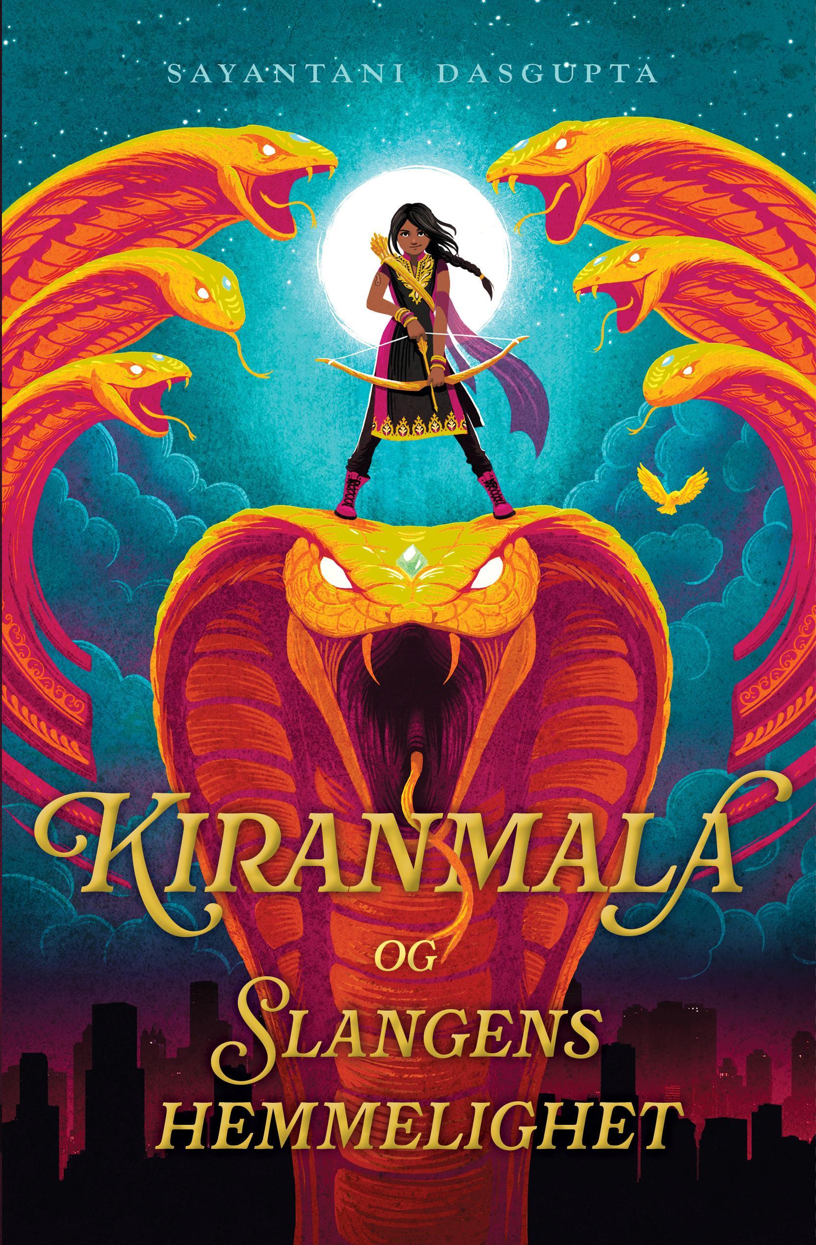"""""""Kiranmala og slangens hemmelighet"""" av Sayantani DasGupta"""