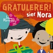 """""""Gratulerer! sier Nora"""" av Irene Marienborg"""
