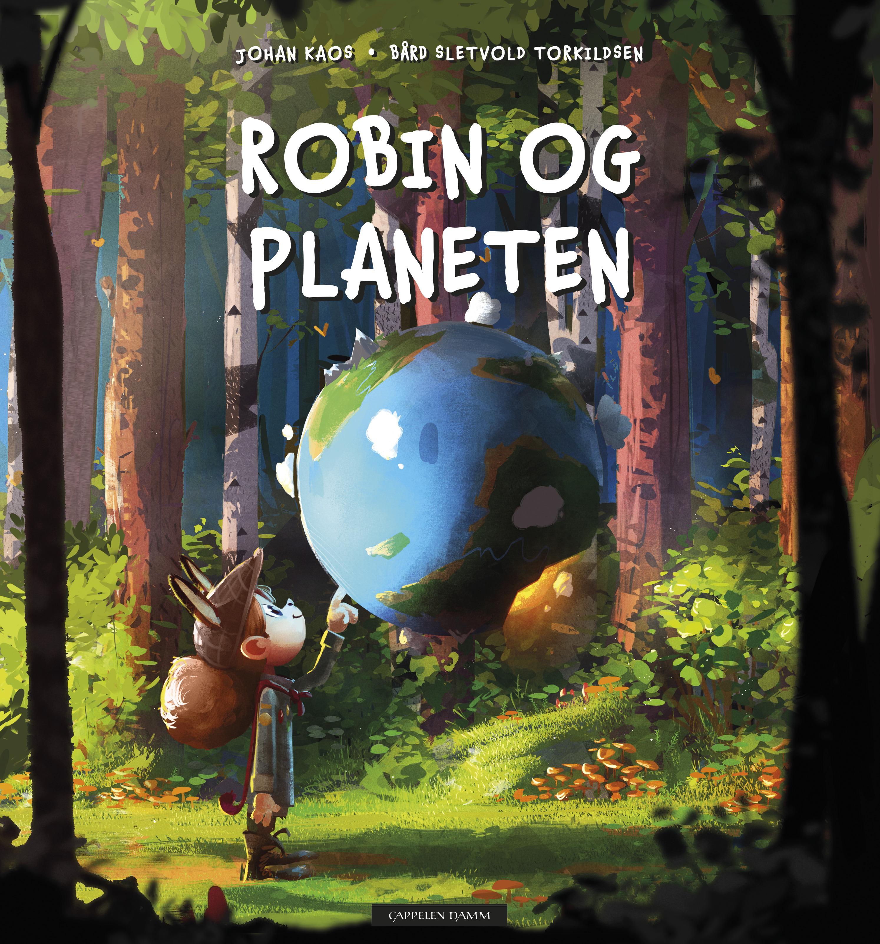 """""""Robin og planeten"""" av Johan Kaos"""