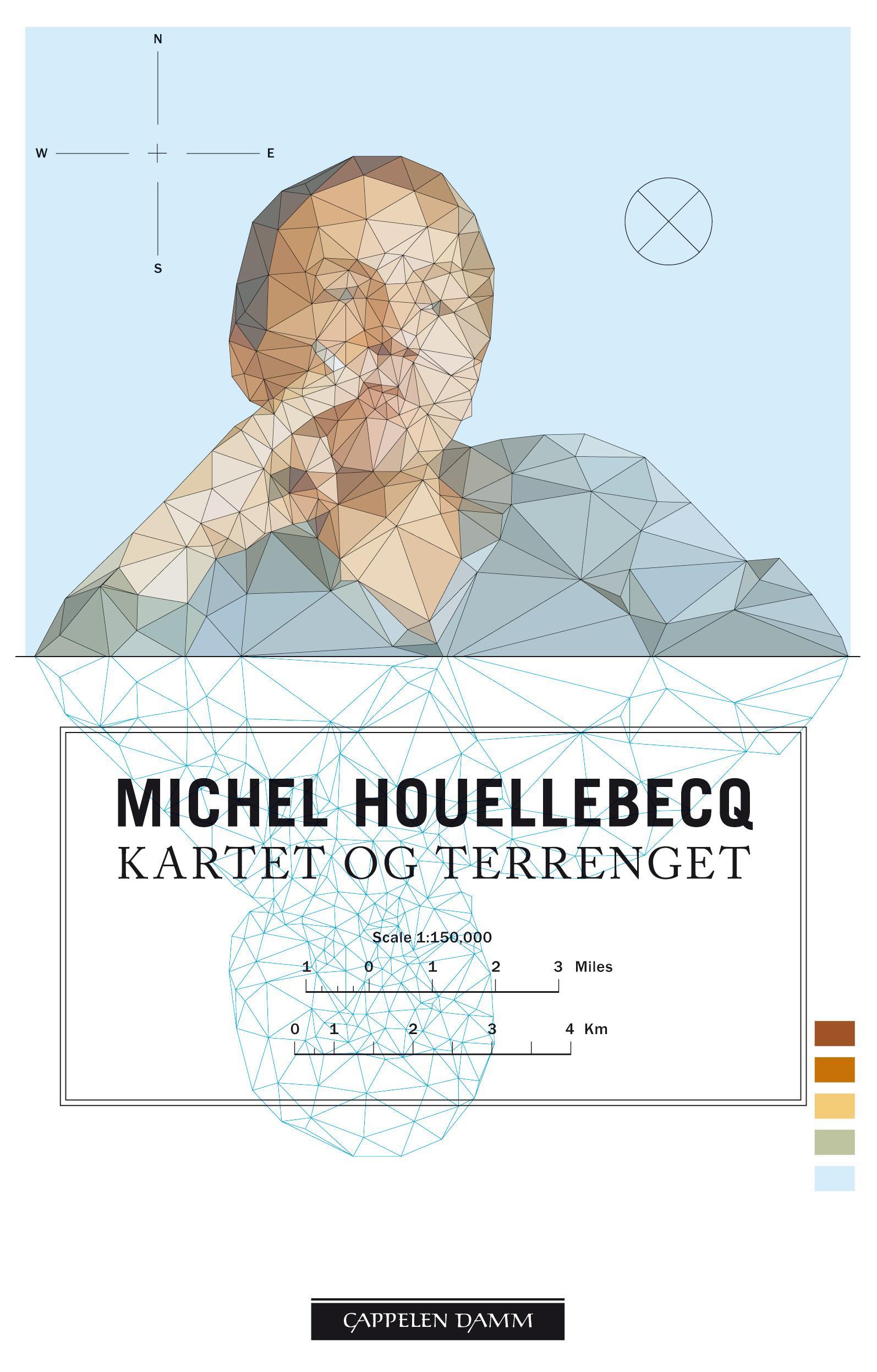 """""""Kartet og terrenget"""" av Michel Houellebecq"""