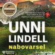 """Nabovarsel kriminalroman"" av Unni Lindell"