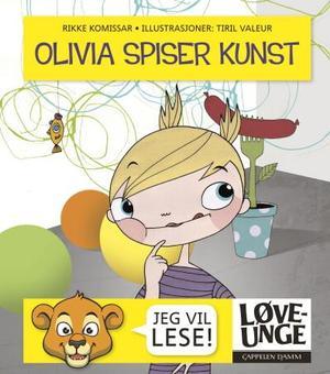 """""""Olivia spiser kunst"""" av Rikke Komissar"""