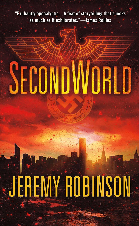 """Second world"" av Jeremy Robinson"