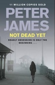 """Not dead yet"" av Peter James"