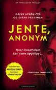 """""""Jente, anonym"""" av Greer Hendricks"""