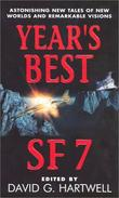 """Year's Best SF 7"" av David G. Hartwell"