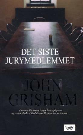 """""""Det siste jurymedlemmet"""" av John Grisham"""