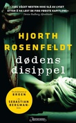 """Dødens disippel kriminalroman"" av Michael Hjorth"