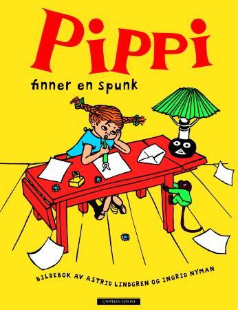 """""""Pippi finner en spunk"""" av Astrid Lindgren"""