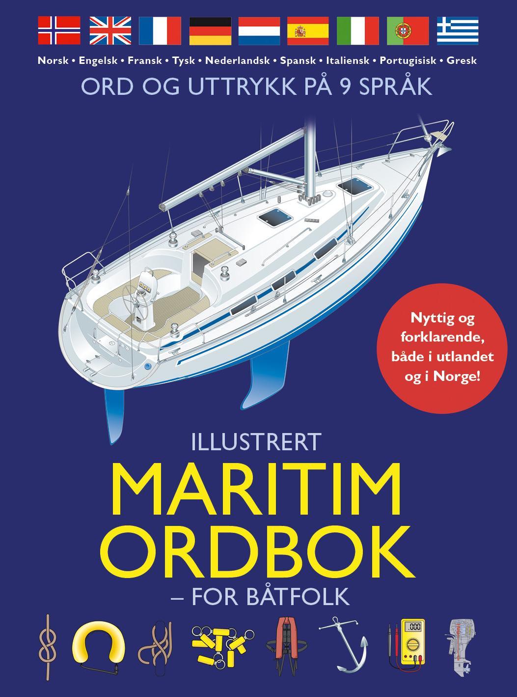 """""""Illustrert maritim ordbok - for båtfolk"""" av Vanessa Bird"""