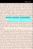 """""""Sannhet og metode - grunntrekk i en filosofisk hermeneutikk"""" av Hans-Georg Gadamer"""