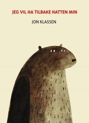 """""""Jeg vil ha tilbake hatten min"""" av Jon Klassen"""