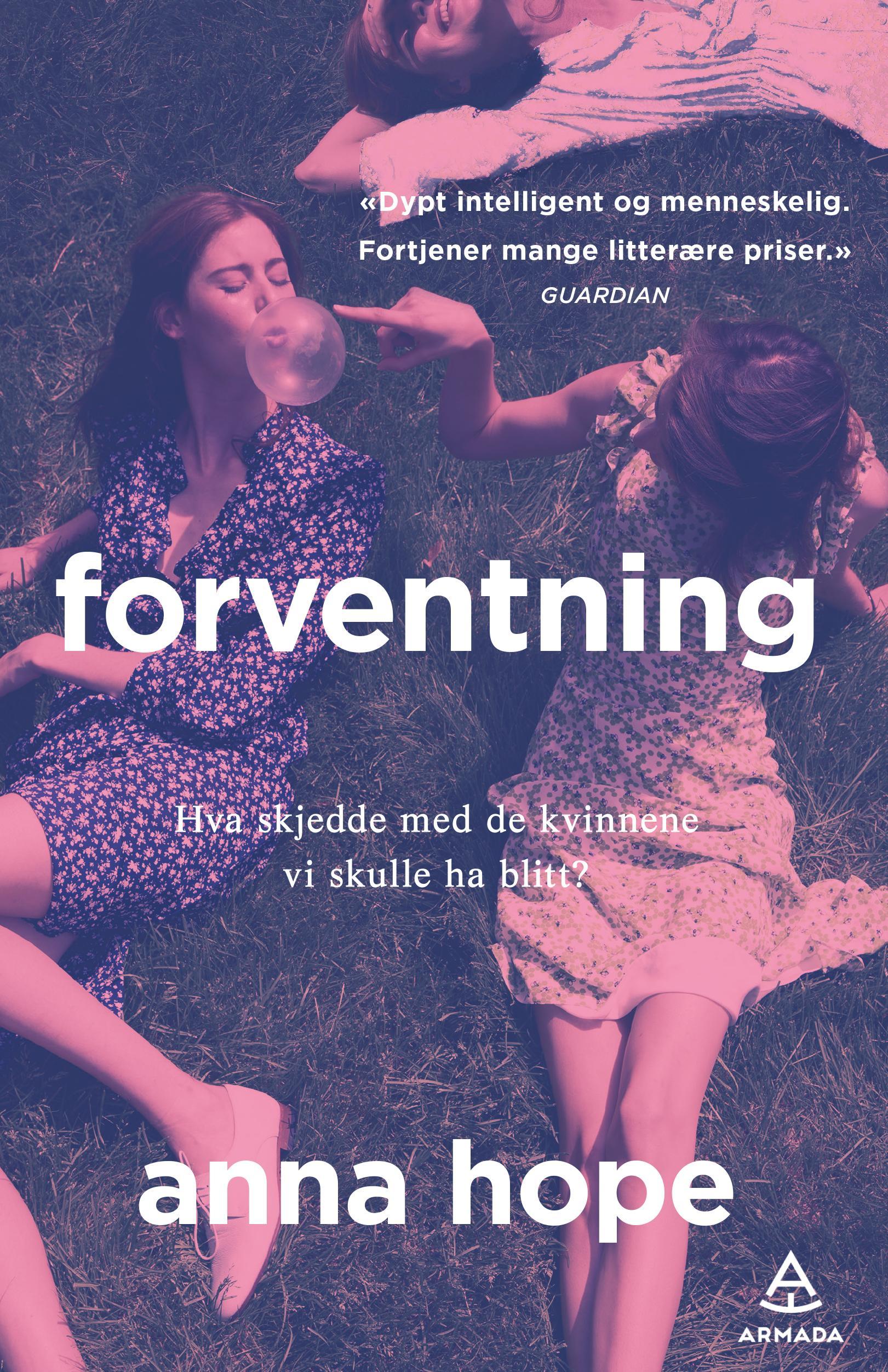 """""""Forventning"""" av Anna Hope"""
