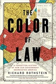"""""""The Color of Law - A forgotten history of how our government segregated America"""" av Richard Rothstein"""