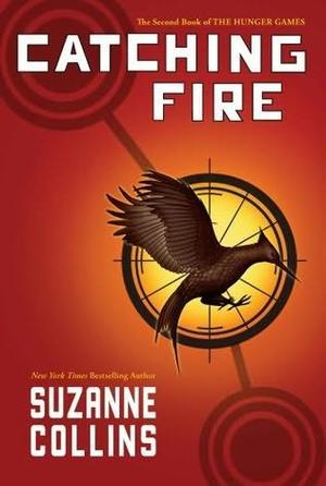 """Catching fire"" av Suzanne Collins"