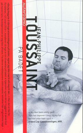 """""""På badet"""" av Jean-Philippe Toussaint"""