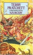 """Sourcery"" av Terry Pratchett"