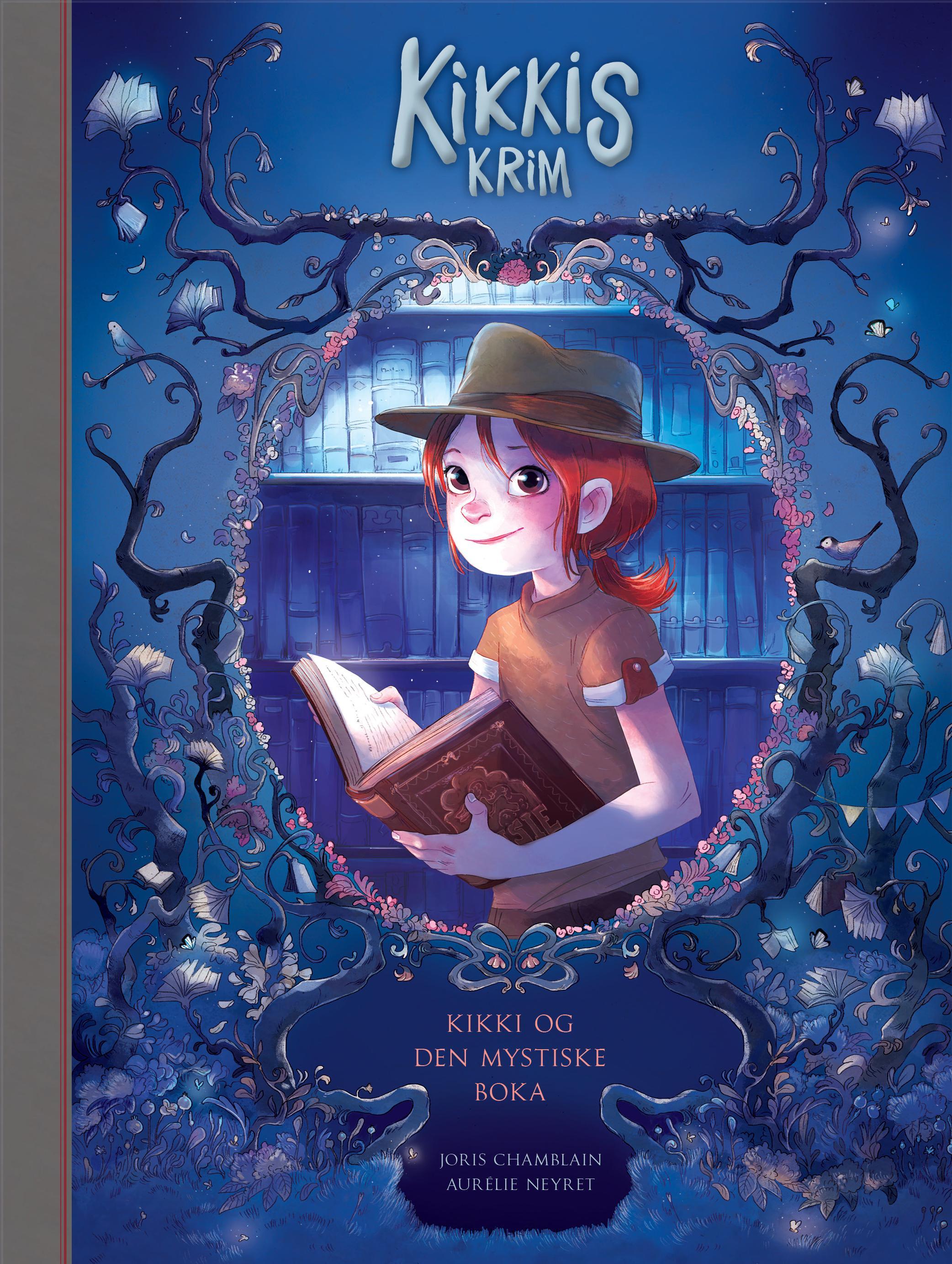 """""""Kikki og den mystiske boka"""" av Joris Chamblain"""