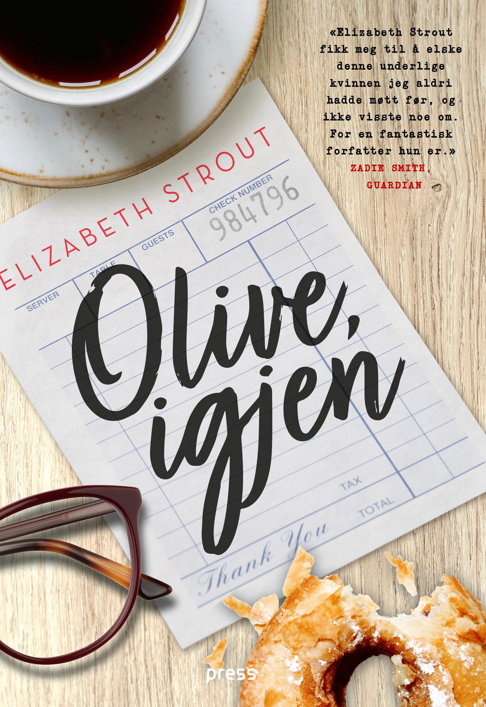 """""""Olive, igjen"""" av Elizabeth Strout"""