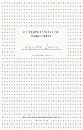 """""""Delprøve i språklige ferdigheter"""" av Alejandro Zambra"""