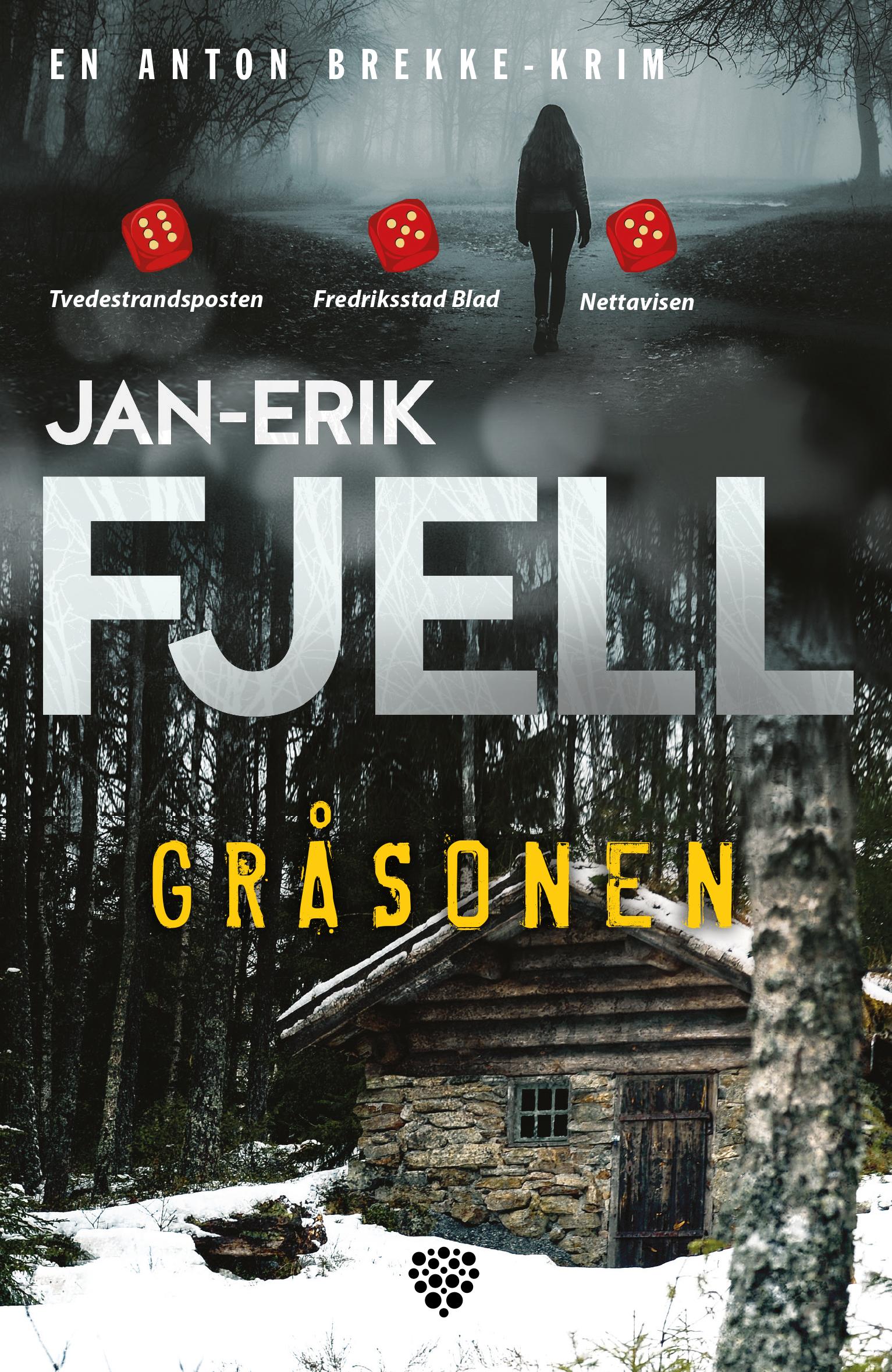 """""""Gråsonen - krim"""" av Jan-Erik Fjell"""