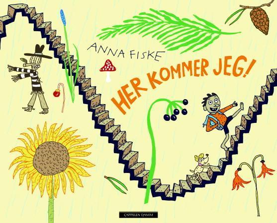 """""""Her kommer jeg"""" av Anna Fiske"""