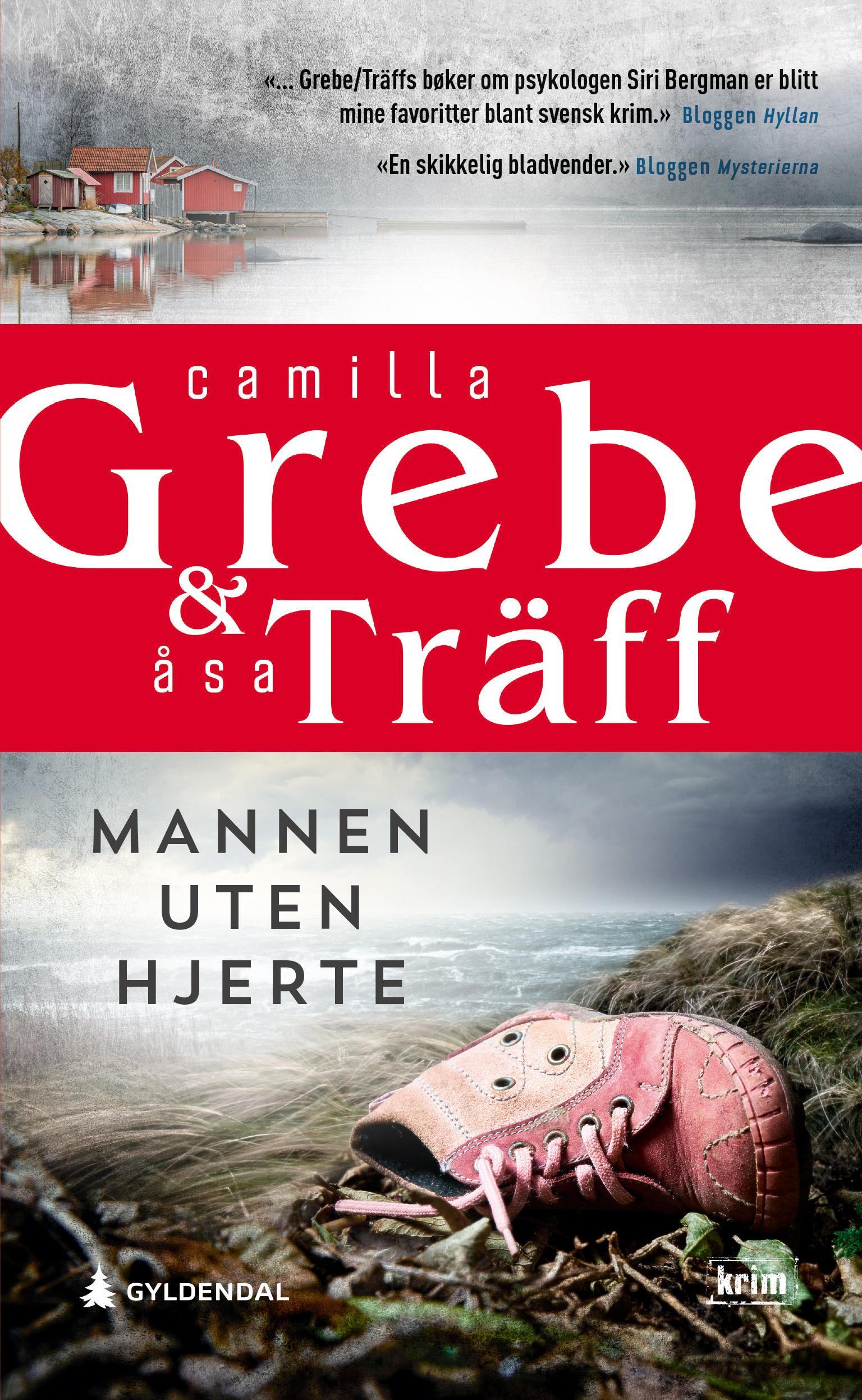 """""""Mannen uten hjerte"""" av Camilla Grebe"""
