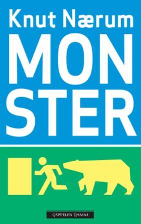 """""""Monster - skrekkroman"""" av Knut Nærum"""