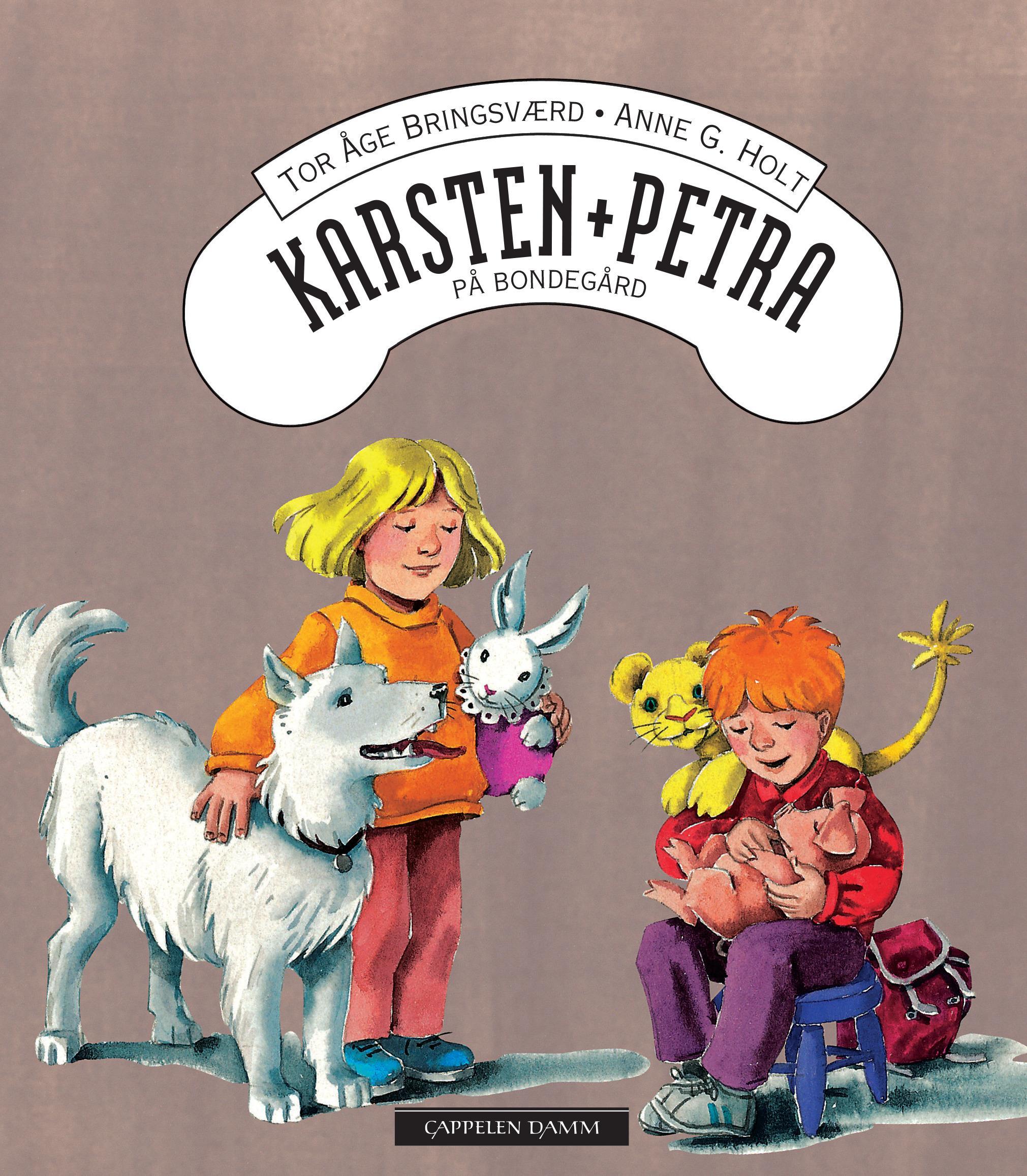 """""""Karsten og Petra på bondegård"""" av Tor Åge Bringsværd"""
