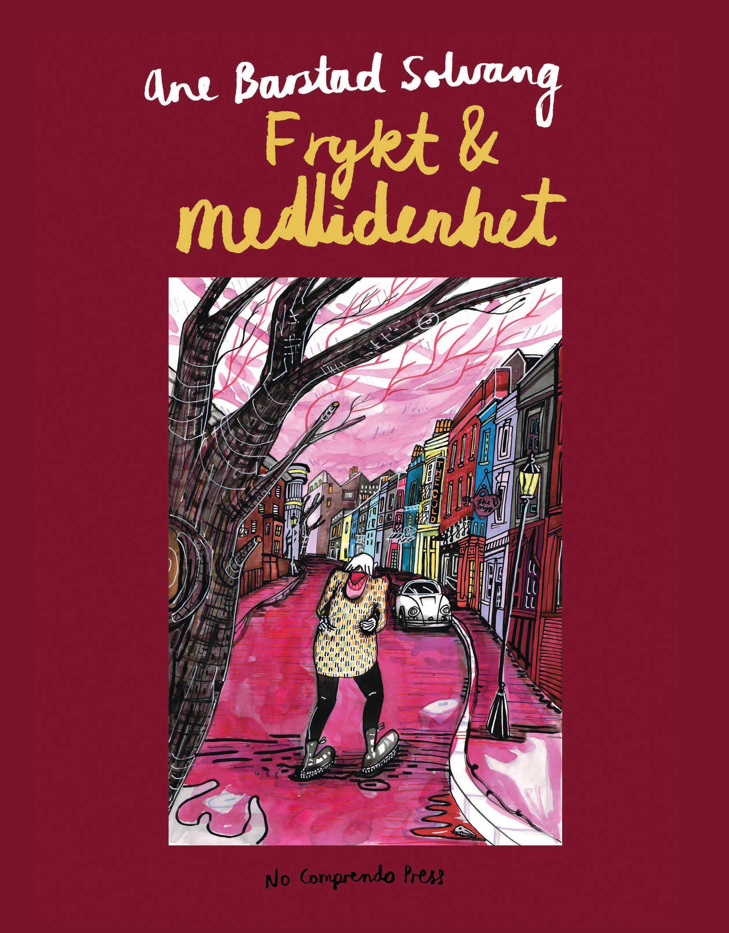 """""""Frykt & medlidenhet"""" av Ane Barstad Solvang"""