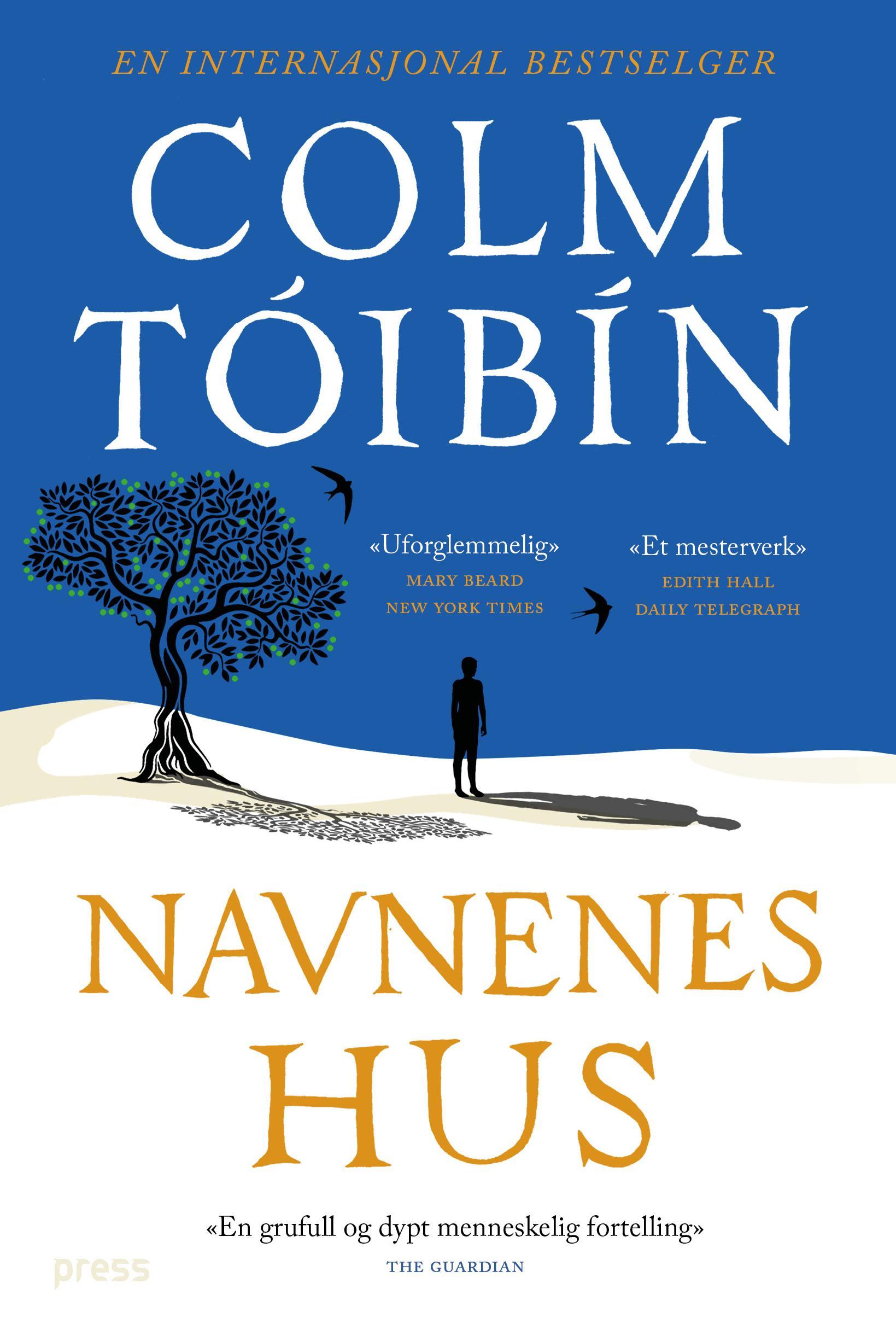 """""""Navnenes hus"""" av Colm Tóibín"""
