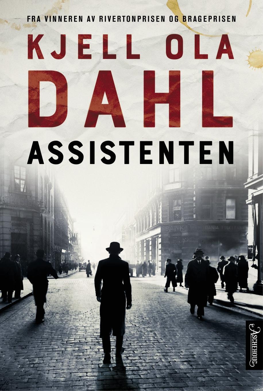 """""""Assistenten - kriminalroman"""" av Kjell Ola Dahl"""
