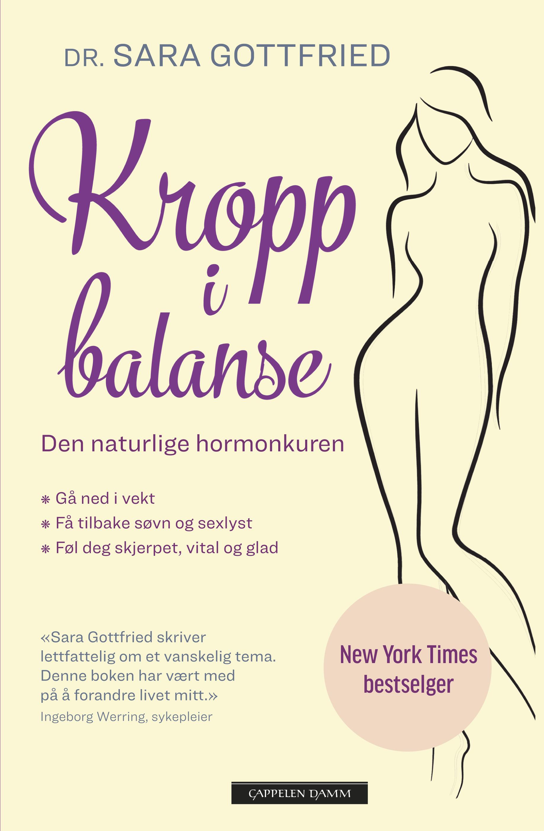 """""""Kropp i balanse - den naturlige hormonkuren"""" av Sara Gottfried"""