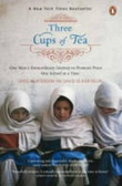 """Three cups of tea - one man's mission to fight terrorism and build nations one school at a time"" av Greg Mortenson"