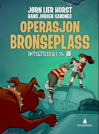 """""""Operasjon Bronseplass"""" av Jørn Lier Horst"""