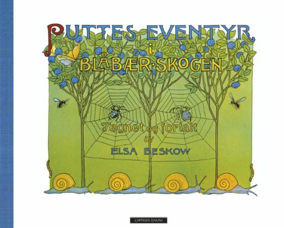 """""""Puttes eventyr i blåbærskogen"""" av Elsa Beskow"""