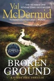 """""""Broken ground"""" av Val McDermid"""